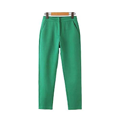 Pantaloni Eleganti alla Moda da Donna Pantaloni da Ufficio da Donna Pantaloni da Donna Pantaloni daLavoro alla Caviglia Pantaloni Casual