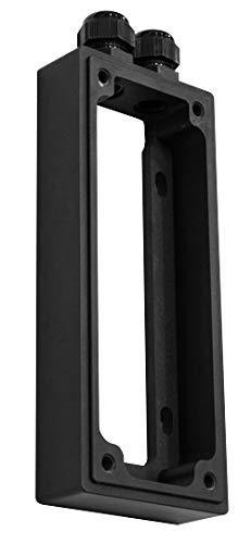 Hesotec Electrify eBox sr10 Wall AdapterSurface Mounted Black matt W125782890 Surface Mounted Black matt