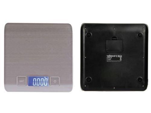 Nedis Báscula Digital Cocina pese Cocina electrónica 5kg/1G Gramos Onces Libro