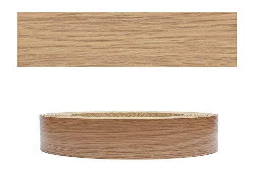 Mprofi MT® (5m rollo) Cantoneras laminadas melamina para rebordes con Greve Berg Roble claro Pore 22 mm