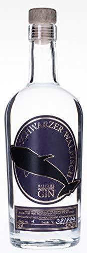 Schwarzer Walfisch Gin 0,5 Liter aus Deutschland