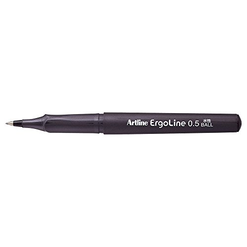 シヤチハタ エルゴライン ボールペン 0.5 黒 K-4200クロ 【まとめ買い10本セット】