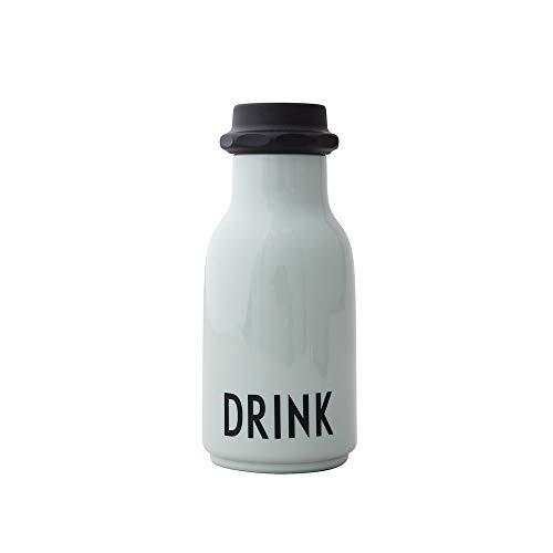 Design Letters Wasserflasche für Kinder 330 ml (Grün)