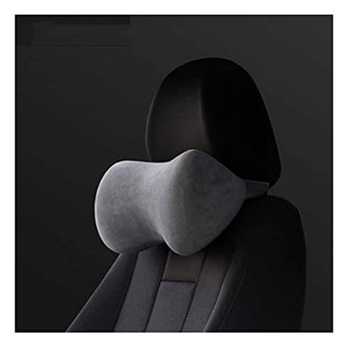 UFFD Reposacabezas Coche Cojin con Espuma de Memoria, Almohada Cuello Coche para la conducción, Almohada Coche para el Asiento de Coche, Almohada Cervical Coche (Color : B, Size : 31cmx13cmx14cm)