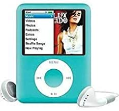 $169 » M-Player iPod Nano 4GB Blue 3rd Generation (Packaged in White Box with Generic Accessories)…