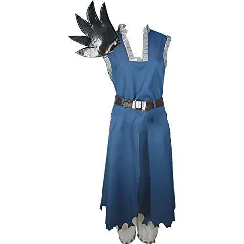 Sunkee Fairy Tail Cosplay Gajeel Reitfox Kostüm, Größe M ( Alle Größe Sind Wie Beschreibung Gesagt, überprüfen Sie Bitte Die Größentabelle Vor Der Bestellung )