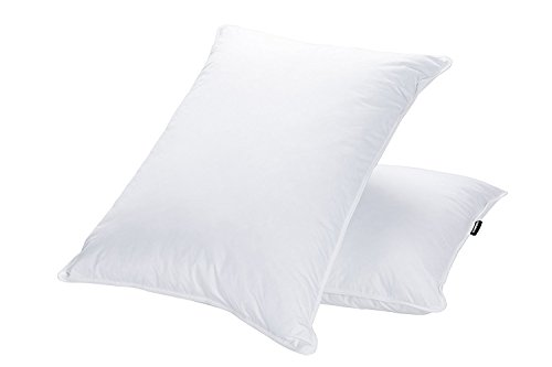 JA COMFORTS Goose Down and Feather Bed Pillows for Sleeping...