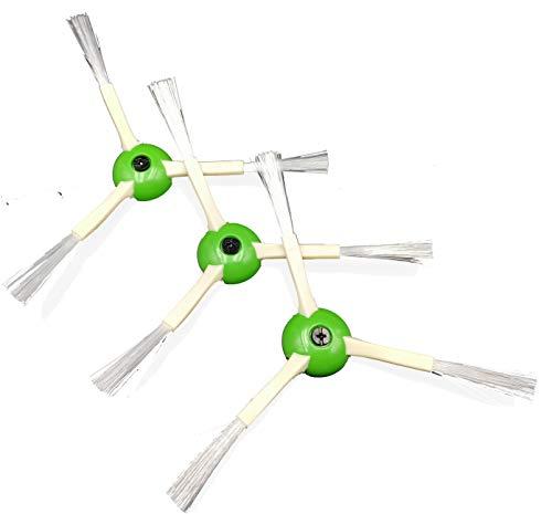 KOMBI 3 Spazzole Laterali iRobot Roomba e5 i7 i7 Plus e6 Aspirapolvere Ricambio, Accessori Spazzole Compatibile con iRobot Roomba Aspirapolvere Senza Fili Robot
