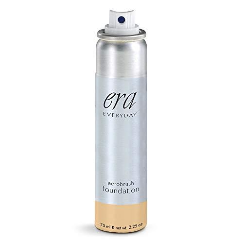 ERA Everyday Aerobrush Foundation Makeup, Y5 Summer Wheat, 2.25 Ounce