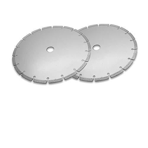 Hoja de sierra circular de 230 mm de diámetro para cortar madera, metal y plástico (paquete de 2)