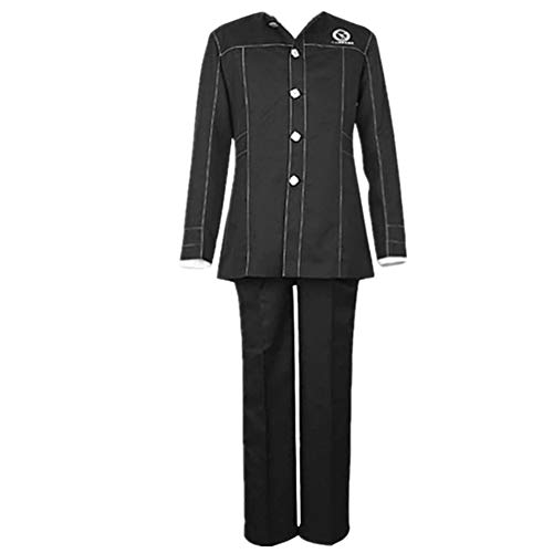 Shin Megami Tensei Persona 4 Yasogami Yu Narukami Cosplay Costume School Uniform Costume (Female XL)