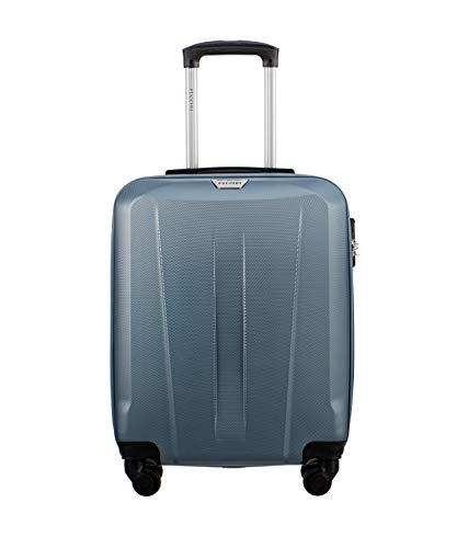 Koffer Reisekoffer Hartschalen Trolly Puccini® Paris 3 Größen 4 Farben (Blau (7), Kabinenkoffer)