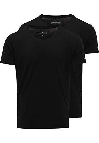 bruno banani T-Shirt Herren 2204-1796 schwarz, L