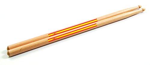 2baquetas con la Bandera de España