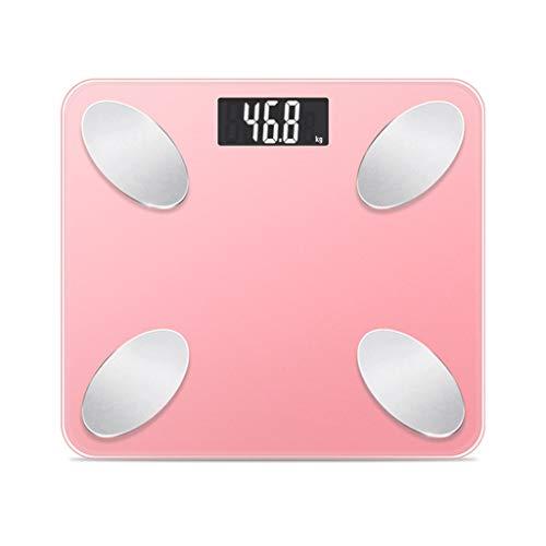 LJP Elektronische Waage, 0,1-150 kg genau Startseite Gesundheit für Erwachsene Intelligente USB-Waage zur Überwachung des Gewichtsverlusts Digitale Waage zur Analyse des menschlichen Körpers