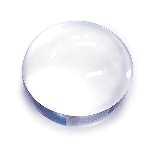 NKTR-0287 ルーペ 拡大鏡 クリスタルガラス ペーパーウェイト 文鎮 卓上ルーペ 半円ドーム