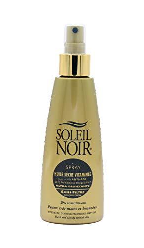 Soleil Noir Spray Huile Sèche Vitaminée sans Filtre 150 ml