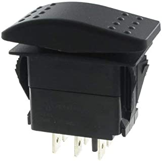 Rocker Switches DP (ON)OFF(ON) 20A 12V SEALED Non-ill