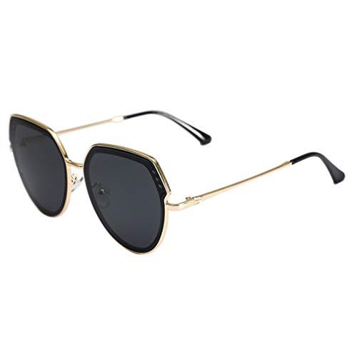 Gafas de sol Net Celebrity Gafas Conducción Adecuado Para Gafas De Sol Femenina Cara Redonda Grande Cara Ojos Delgados