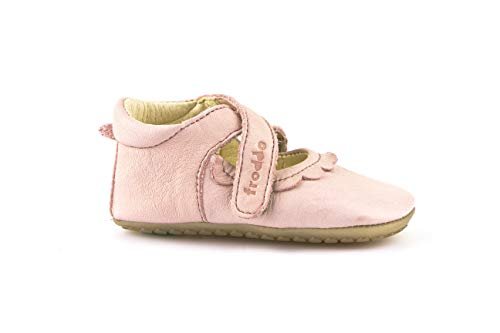 Froddo Schuhe Lauflernschuhe Prewalkers Schuhe Kinderschuhe (18 EU, Ballerina Rosa)
