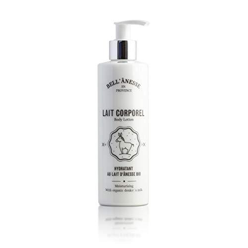 Lait Corporel au Lait d'Ânesse Bio -Label Provence Nature La Bell' Anesse- Flacon de 250 ml