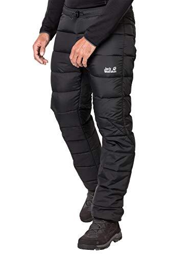 Jack Wolfskin Pantalones de atm¨®sfera de hombre de Jack Wolfskin, negro, 3 veces grande