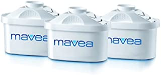 Mavea 1001122 Maxtra Replacement Filter for Mavea Water Filtration Pitcher -  Pack of 3 - 1001277, White