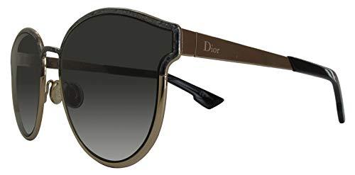 Dior DIORSYMMETRIC 2K GBY Gafas de Sol, Negro (Black Marble/Grey Grey), 59 para Mujer