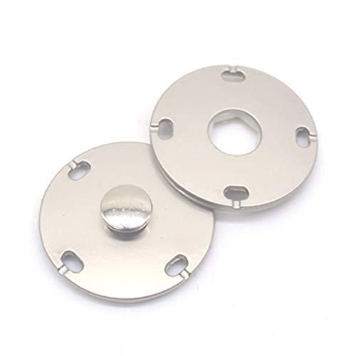 Nuevo 10 Unids/lote Oro Negro Cabeza Grande Metal Sujetadores de Presión Botón...