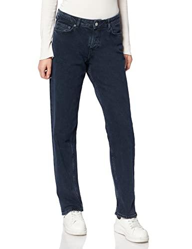 Jack & Jones JJXX JXSEOUL Straight MW CC3005 Noos Jeans, Blue Denim, 29/34 aux Femmes