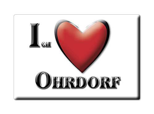 Enjoymagnets OHRDORF (NI) Souvenir Deutschland Niedersachsen Fridge Magnet KÜHLSCHRANK Magnet ICH Liebe I Love