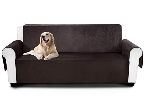 YEMYHOM Real Non-Slip Pet Dog Sofa Covers Protectors Water-Repellent Recliner Couch Slipcovers with Pockets