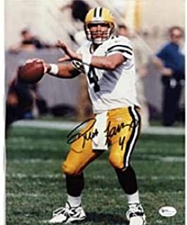 Brett Favre Autographed 8x10 Photo - Green Bay Packers - Autographed NFL Photos
