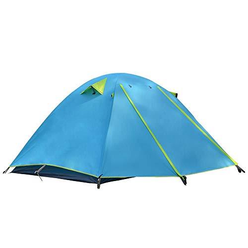 AOGUHN-tent - 2-3 personen campingtent, aluminium stokken Outdoor Travel dubbellaags waterdicht winddicht lichtgewicht lichtgewicht tent