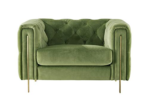 Best green chesterfield chair
