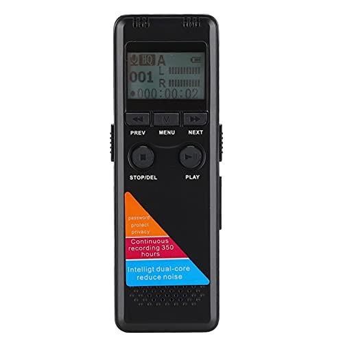Cloudbox Grabadora de Voz MP3 MP4 8GB 3.5mm Pantalla LCD estéreo Portátil HD USB Audio Grabadora de Voz Pluma de grabación