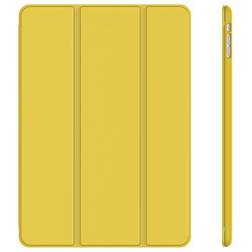 JETech Hülle Kompatibel iPad Mini 1 2 3, Schutzhülle mit Ständer Funktion & Auto Einschlafen/Aufwachen, Gelb