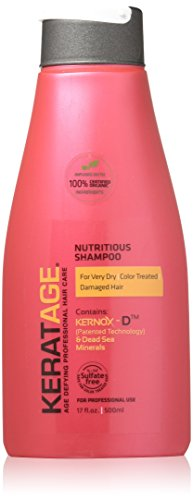 Keratage Nutritious Shampoo 17 Oz