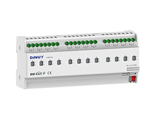 Dinuy IT.KNT.012 - Interruptor modular 16a 12 canales