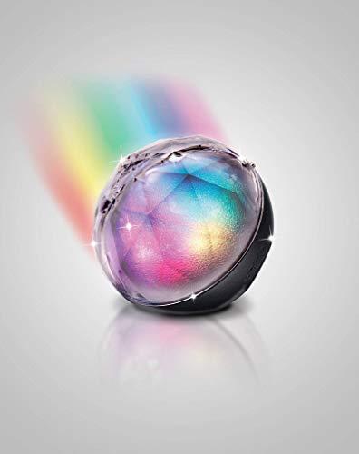 soundcandy Crystal Ball Bluetooth Light Show Speaker, Black