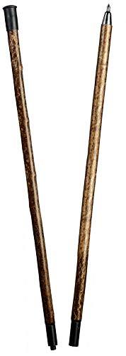 Stock Fachmann Barre d'alpinisme pliée à deux branches Charge max. 100 kg Couleur marron bois