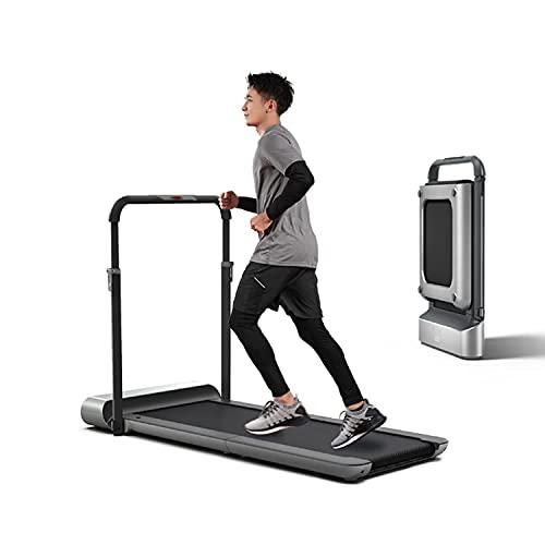 rueda de andar Cinta de correr eléctrica plegable para caminar, máquina de aptitud de almacenamiento en posición vertical compacta para el hogar Pequeños espacios, caminar corriendo corriendo, para us