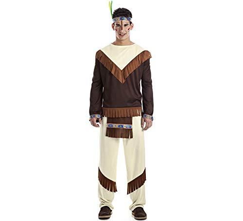 Car&Gus Disfraz de Indio Apache para Hombre