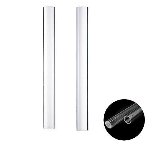 2 rodillos de arcilla acrílica transparente para arcilla para alisar arcilla, cerámica, herramienta de modelado, manualidades, arcilla y alisar