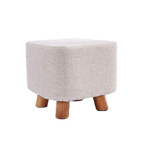 stool Sofá hogar algodón y lino pequeño simple creativo sala de estar pequeño banco perezoso zapatos sillas (color: G)