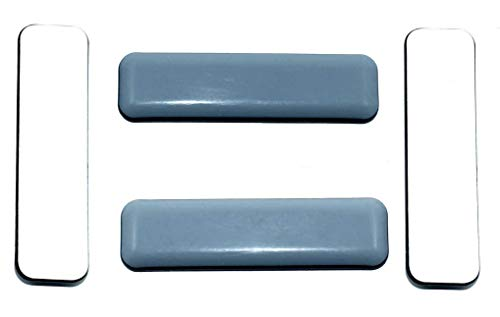 4 Stück Teflon-Möbelgleiter 19 x 70 mm Selbstklebend, PTFE-Gleiter, Teflongleiter