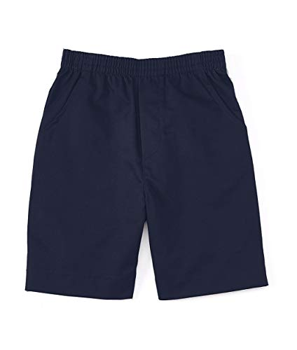 unik Boys All Elastic Waist Pull up Shorts Navy Size 6