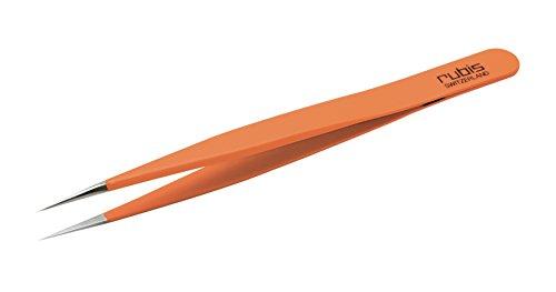 ルビス 超精密ピンセット オレンジグリップ RU-3C-GRIP