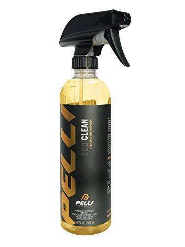 PELLI Premium Bike Care EcoClean   Biodegradable Bike Wash / Degreaser / Drivetrain Cleaner - Safe on All Bike Surfaces - Dissolves Dirt, Mud, Oil, Road Grime and Safely Cleans Hard-to-Reach Areas