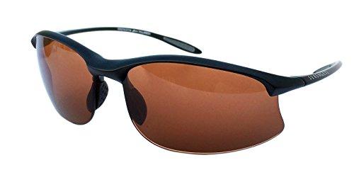 SERENGETI 7356 Gafas, Unisex Adulto, Negro (Satin Black), M/L
